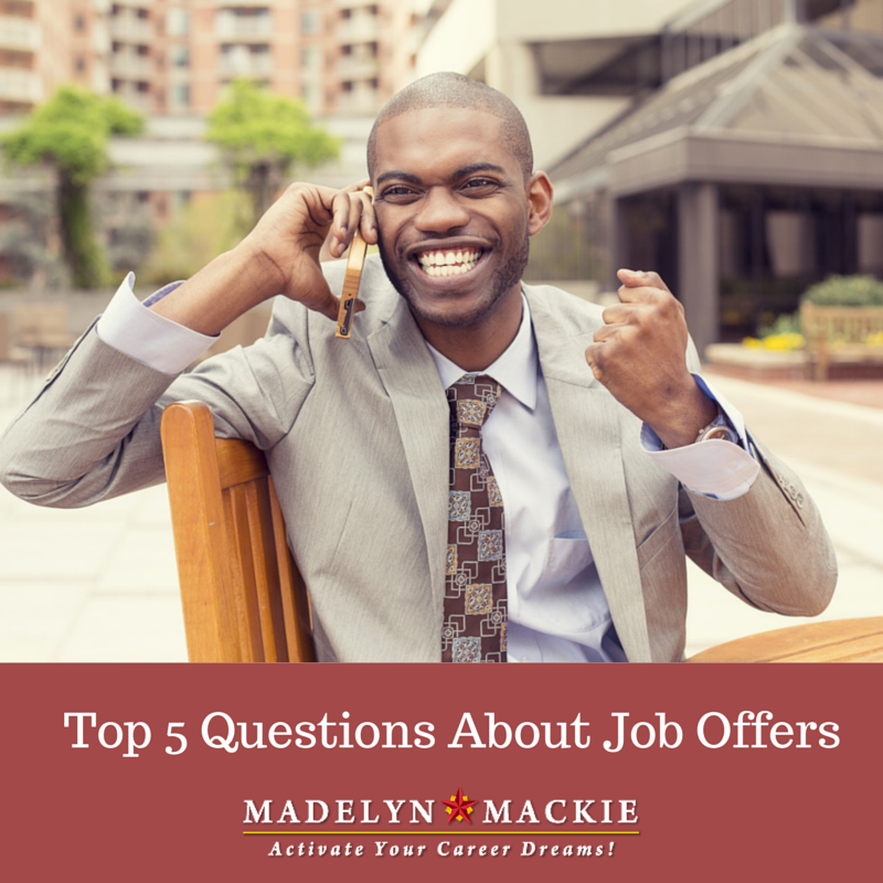 Top 5 Questions About Job Offers