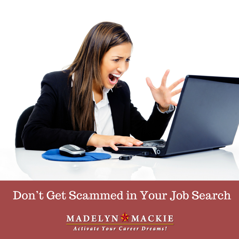 Don't Get Scammed In Your Job Search