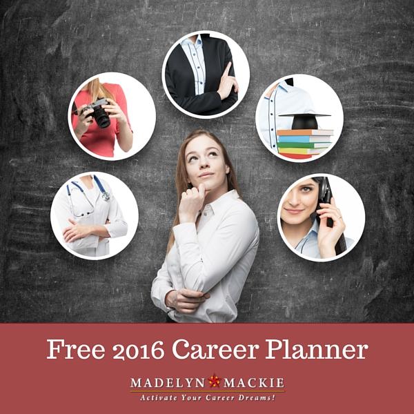 Free 2016 Career Planner