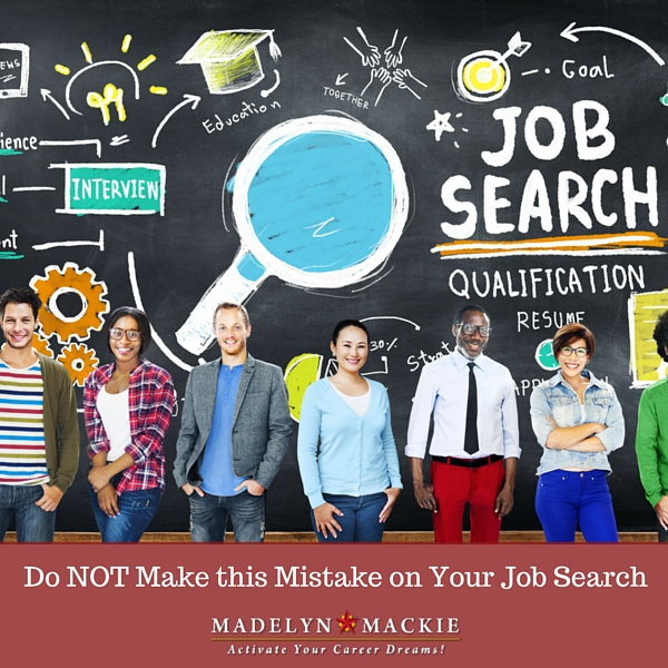 Do NOT make this mistake on your job search