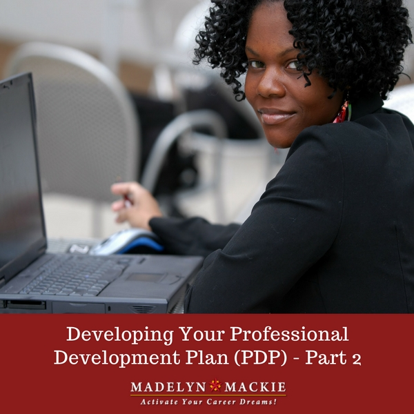 Developing Your Professional Development Plan (PDP)-part2