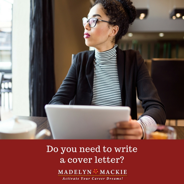 Do You Need to Write a Cover Letter?