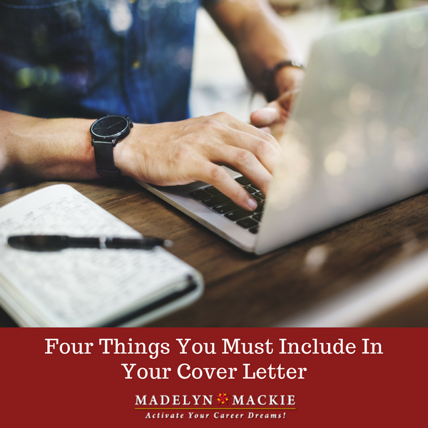 Four Things You Must Include In Your Cover Letter