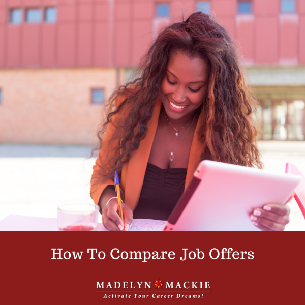 How To Compare Job Offers