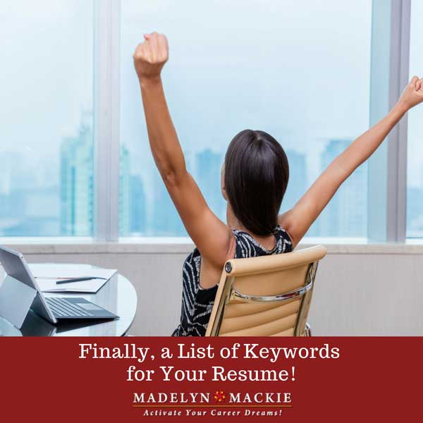 Finally, a List of Keywords for Your Resume!