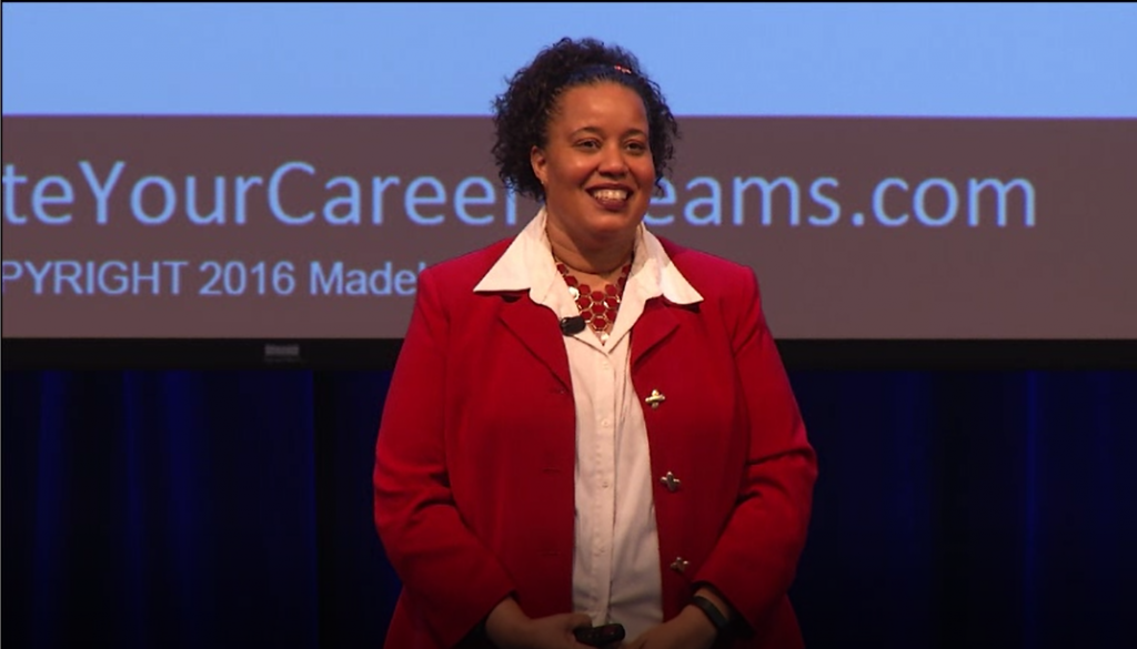 Madelyn Mackie Speaking Photo