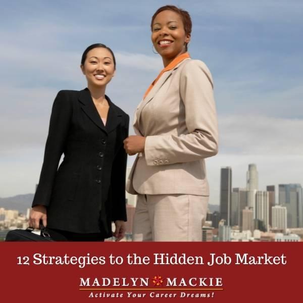 12 Strategies to the Hidden Job Market